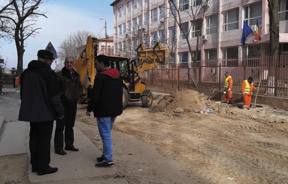 Primarul Hogea, despre lucrările de reabilitare ale străzilor Păcii şi Isaccei