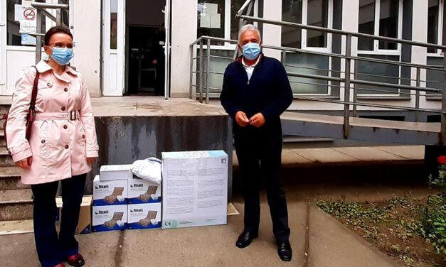 Primarul Hogea, donaţii la secţiile ATI şi Oncologie
