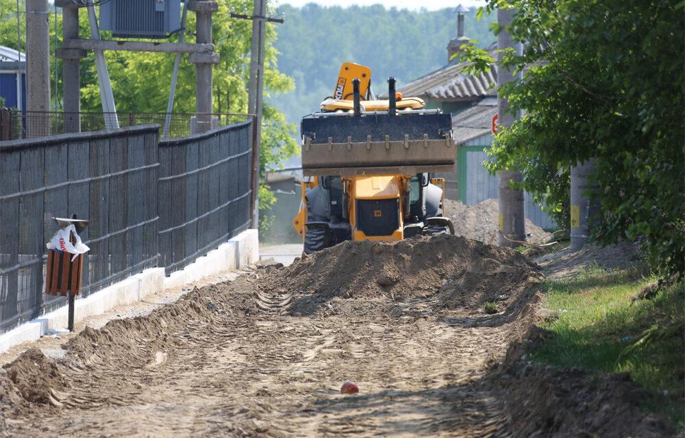 Prin ITI: Drumuri asfaltate şi reţea apă – canal extinsă şi modernizată la Mahmudia