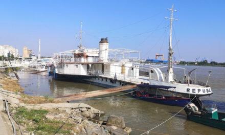 Mişcări de trupe în Portul Tulcea