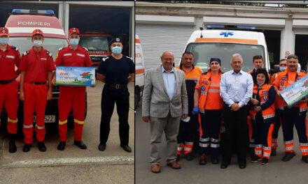 Ambulanţa Tulcea şi SMURD, dotate cu aparate medicale de decontaminare prin intermediul Primăriei municipiului