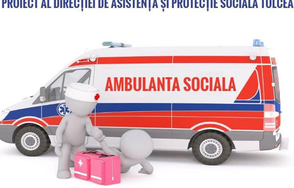 Ambulanţa Socială va funcţiona la Tulcea din această toamnă