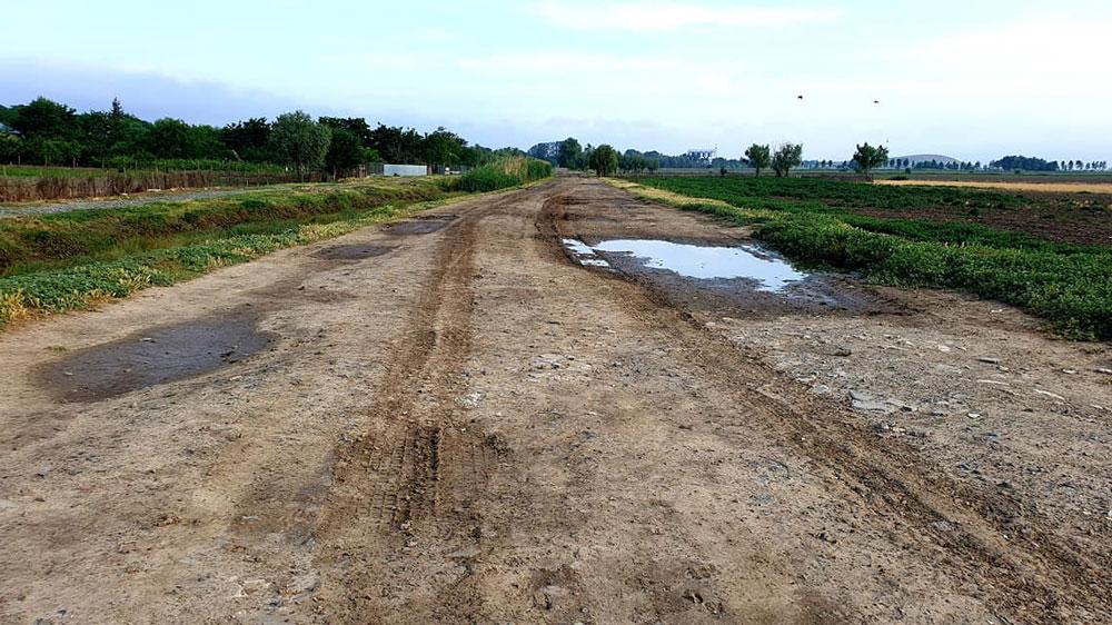 Drumuri agricole de centură din Luncaviţa, modernizate cu fonduri europene