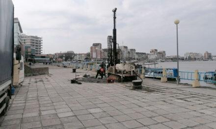 Încep lucrările de execuţie pentru modernizarea portului şi falezei din municipiul Tulcea