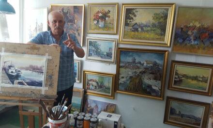 Pictorul Grigore Carată s-a autoexilat în satul natal