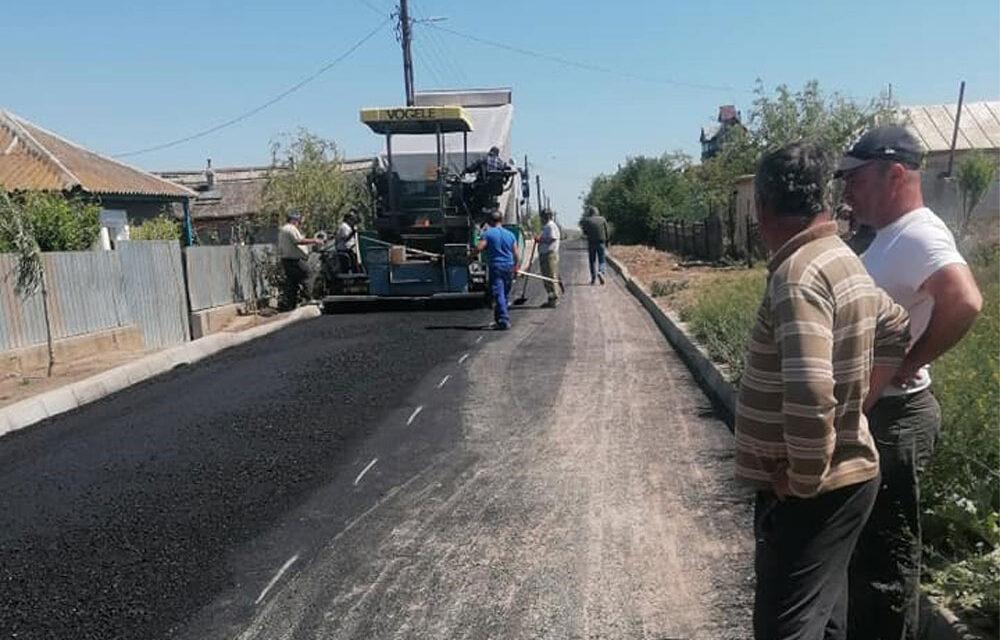 Prin ITI, la Murighiol se extinde reţeaua apă şi canalizare şi se asfaltează drumuri