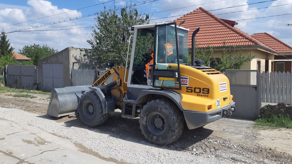 Prin ITI: se asfaltează drumuri la Slava Cercheză