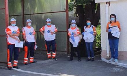 Protest naţional al ambulanţierilor nemulţumiţi că nu primesc sporul de risc