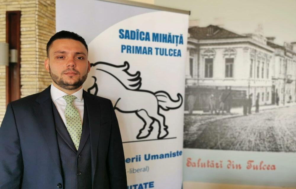 Mihăiţă Sadîca, candidatul Partidului Puterii Umaniste Tulcea la Primăria municipiului