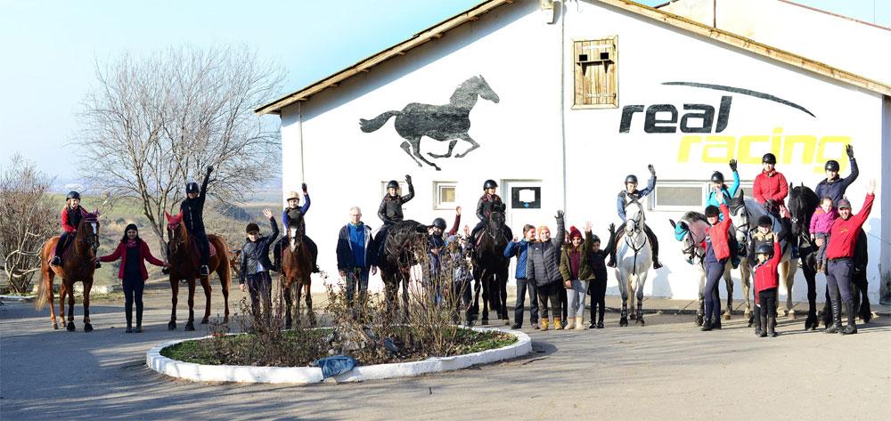 """Campanie de voluntariat la Tulcea: """"Cai în căutare de oameni"""""""
