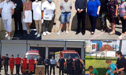 """Parteneriat al Primăriei Tulcea şi Asociaţia """"Blondie"""": două grădiniţe din municipiu, dotate cu materiale de protecţie"""