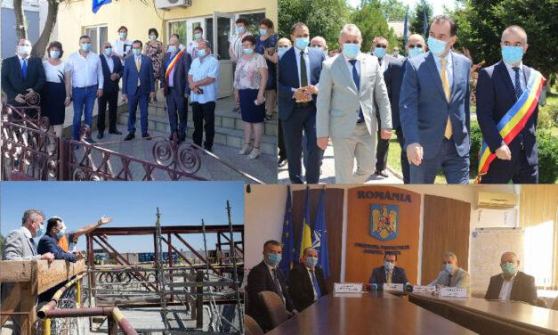 Premierul Orban confirmă la Tulcea exproprieri noi la Podul peste Dunăre