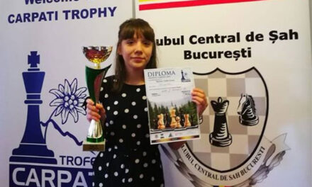 Şahista Sofia Borisov reprezintă astăzi România împotriva SUA