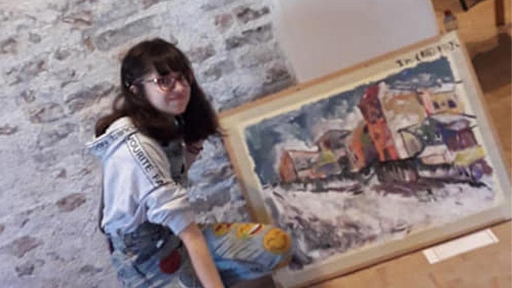 "Loredana Andrici, premiul I la concursul ""Mesajul meu antidrog"", faza naţională"