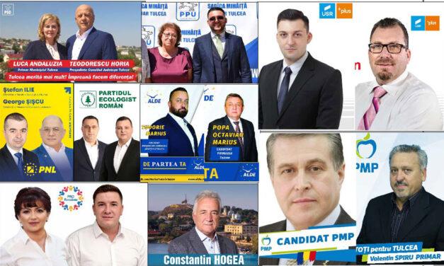 Alegeri electorale la Tulcea: 9 candidaţi pentru Primăria municipiului,  8 pentru şefia Consiliului Judeţean
