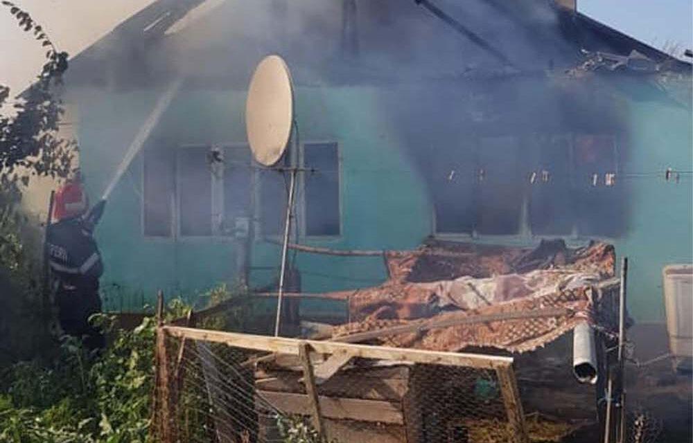 Apel umanitar pentru o familie din Lunca rămasă fără casă în urma unui incendiu