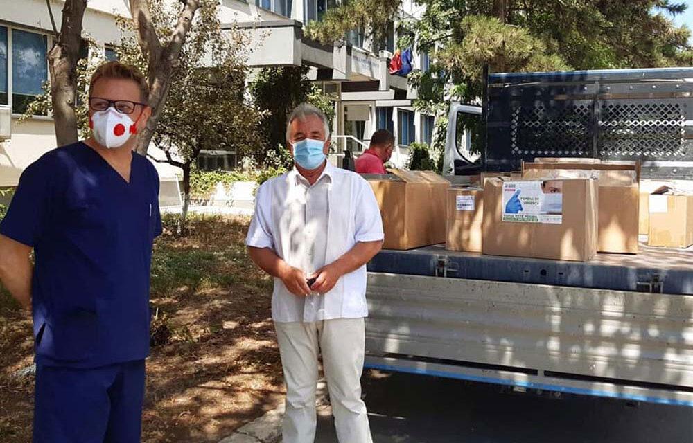 """Primarul Hogea: """"Am livrat personalului medical din Spitalul Judeţean cea mai consistentă donaţie de până acum"""""""