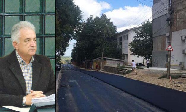 """Primarul Hogea: """"Până pe data de 15 august se va turna primul strat de asfalt pe strada Viitorului"""""""