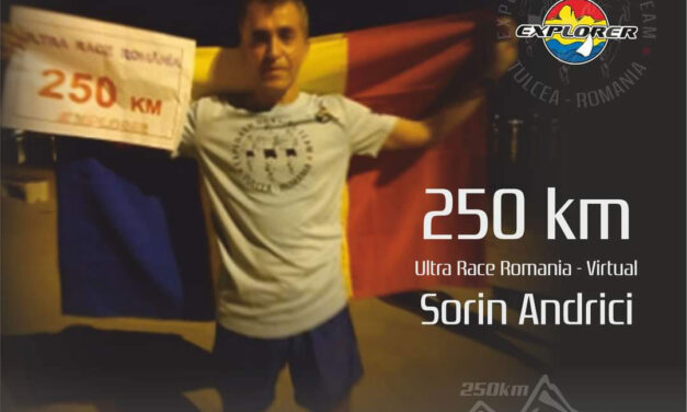 Sorin Andrici termină 250 de km şi urcă România pe locul III mondial  la Ultra Race România