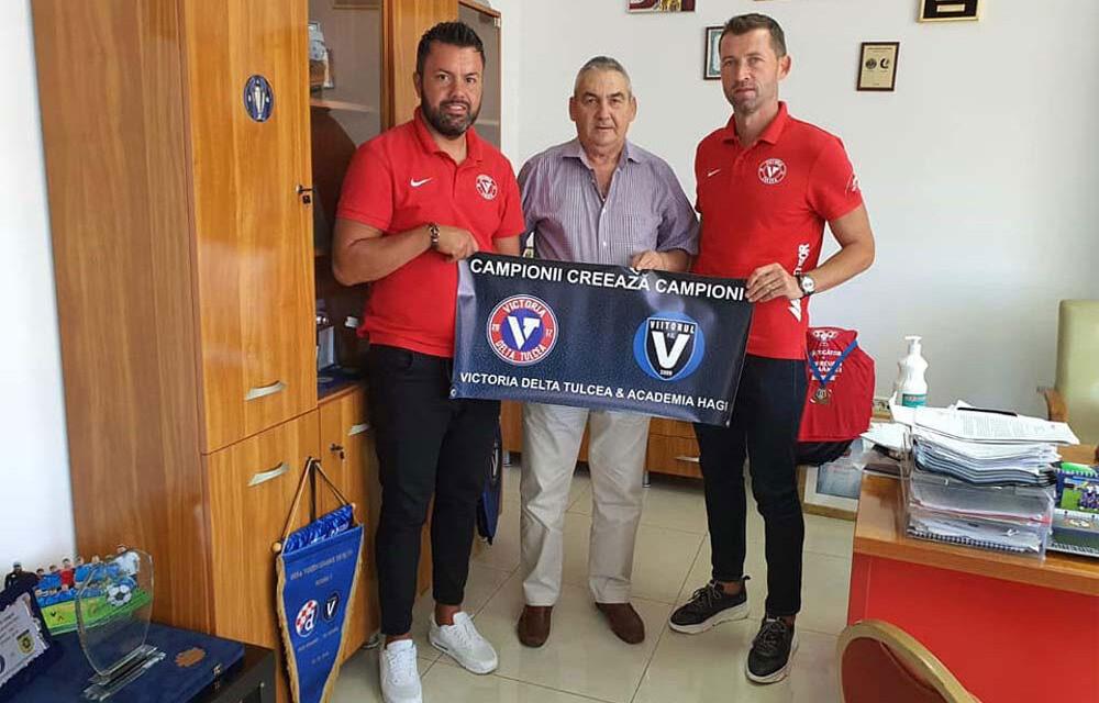 Victoria Delta Tulcea, parteneriat cu Academia Gheorghe Hagi