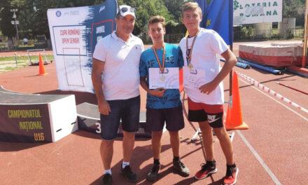 Cristian Panait şi Florin Ispas de la CSS Tulcea, campioni la aruncarea suliţei