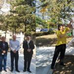 Bustul scriitorului Valentin Şerbu, dezvelit în Parcul Personalităţilor din municipiu