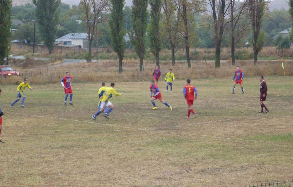 Flacăra Mihail Kogălniceanu, meci cu Dacia Unirea Brăila