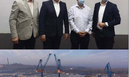 Lucrările de reabilitare în portul industrial Tulcea vor începe anul viitor