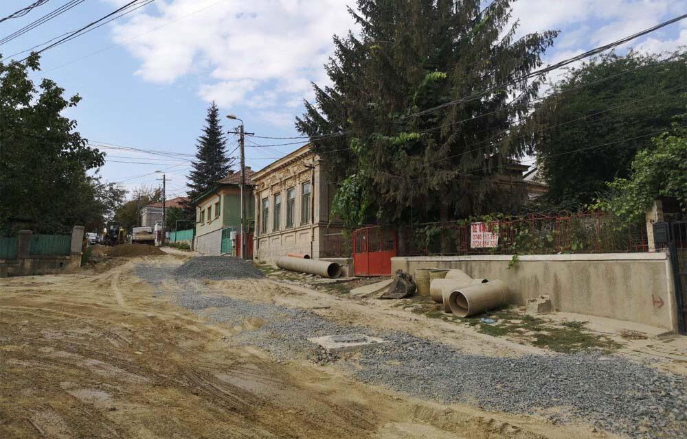 Primăria Tulcea ar putea rezilia contractul de execuţie a lucrărilor de pe strada Griviţei