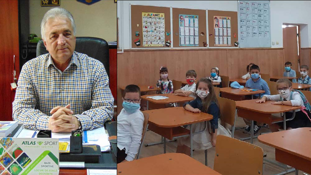 Primarul Hogea, despre măştile pentru elevi