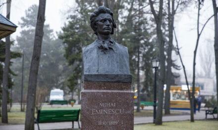 Realizarea bustului lui Mihai Eminescu va fi scoasă din nou la licitaţie