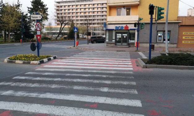 Trei treceri de pietoni din municipiu au sisteme acustice