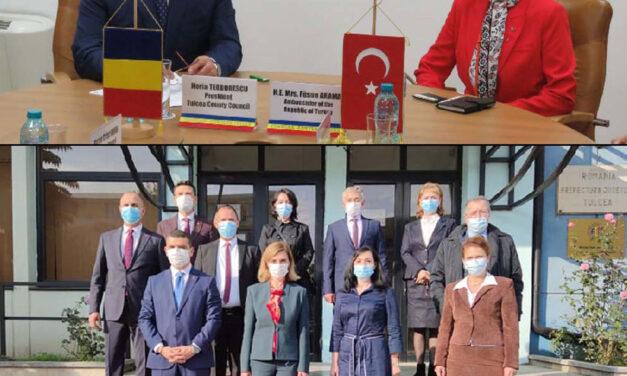 Ambasada Turciei în România are Consulat General Onorific la Tulcea