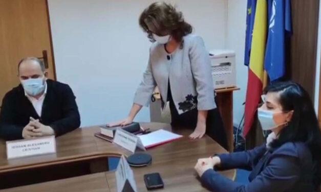 Carmen Caloianu şi Teodora Giurgiuvanu, la conducerea Prefecturii Tulcea