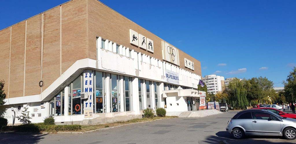 Demolarea Sălii Polivalente din municipiu, în linie dreaptă
