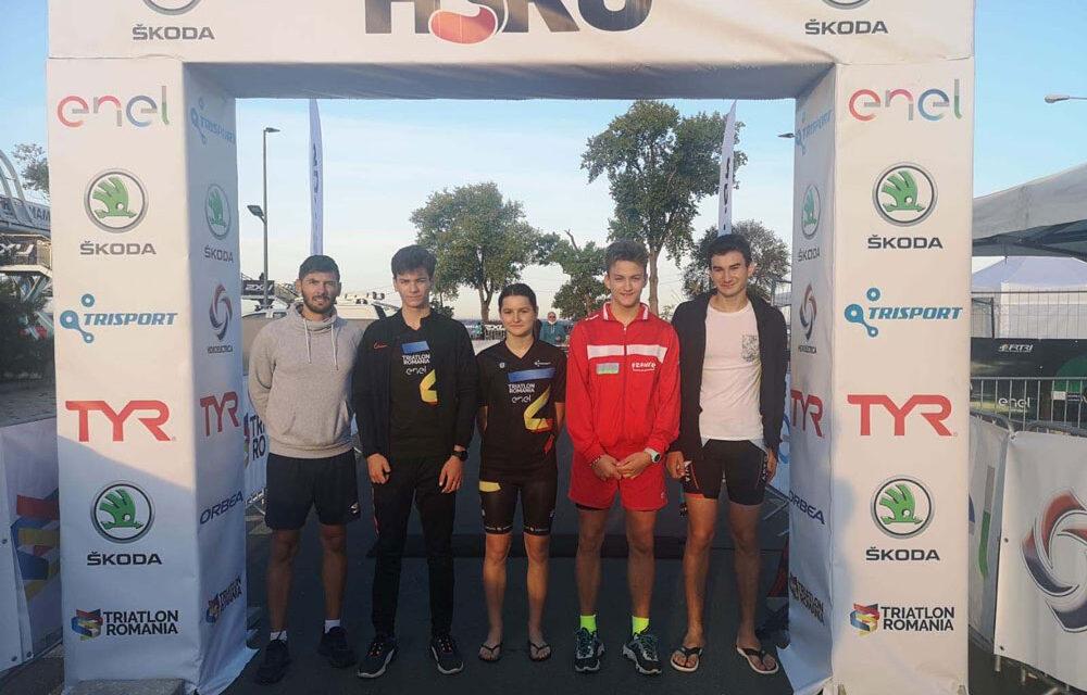 Denisa Cralea de la Aqua Vita Delta Tulcea a obţinut medalia de bronz la H3RO Trichallenge Mamaia