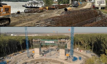 Lucrările la faleză şi la Podul peste Dunăre s-ar putea finaliza înainte de termen