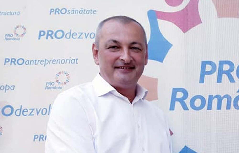"""Lucian Furdui, candidatul Pro România pentru Senat: """"Fără o testare în masă nu avem şanse să izbutim"""""""