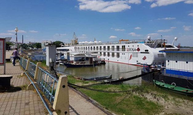 Doar 19 nave de croazieră au acostat anul acesta în Portul Tulcea