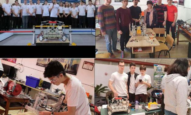 """Tinerii pasionaţi de robotică de la Clubul """"Ion Adamache"""" se pregătesc pentru etapa naţională a concursului First Tech Challenge"""