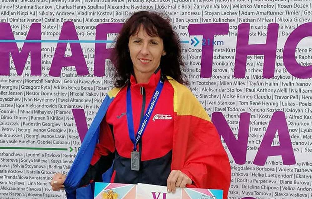 Tulceanca Nicoleta Ciortan, locul 6 la Marathon Varna