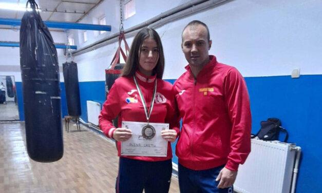 Alina Alexandra Creţu, medalie de bronz la Campionatul European de Box Juniori din Bulgaria