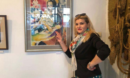 """Artista Elida Buftei: """"Nu este de ajuns să ai talent, trebuie să creezi în fiecare zi şi să crezi în visul tău"""""""