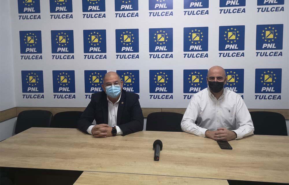 Deputaţii liberali George Şişcu şi Michael Gudu, mesaj către primarii tulceni