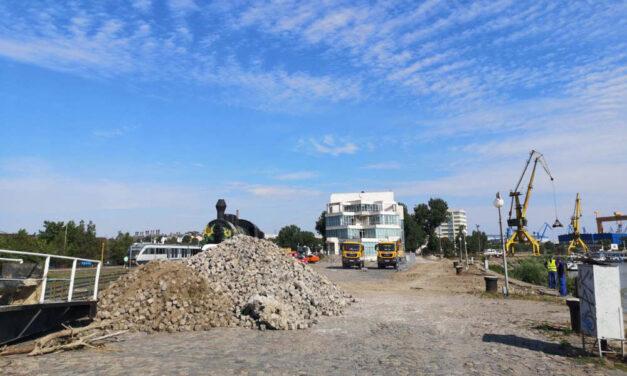 Sistarea lucrărilor de reabilitare a falezei Dunării va fi decisă la Judecătoria Constanţa