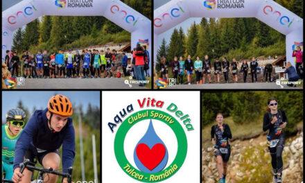 Triatloniştii de la Aqua Vita Delta Tulcea au obţinut 11 medalii în pandemie