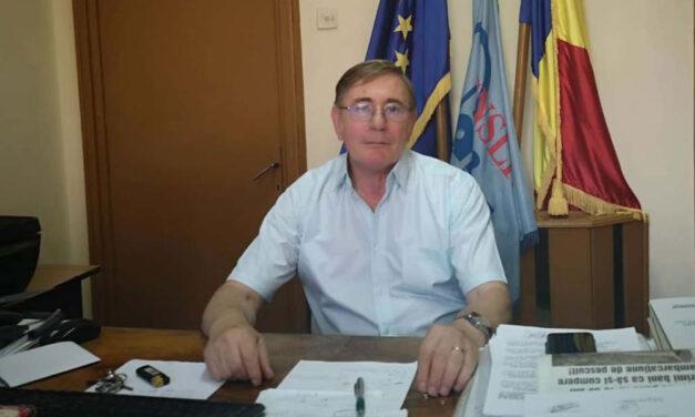 Mihai Roma, liderul Sindicatului Învăţământului Preuniversitar filiala Tulcea