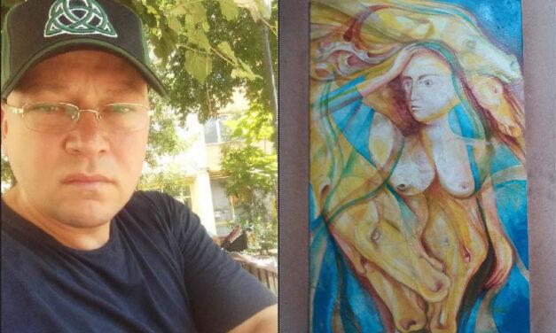 """Artistul Adrian Pal Jr.: """"În 2021 îmi propun să organizez o expoziţie de peisaje şi, de ce nu, o nouă expoziţie cu lucrări de grafică"""""""
