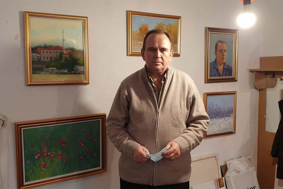 """Pictorul Gheorghe Neaţă: """"Sunt unele picturi pe care merită să le numesc aşa, şi unele nu"""""""