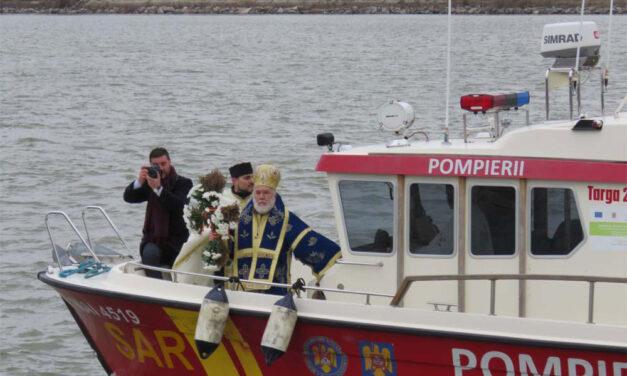 Slujba de Bobotează nu va mai avea loc pe faleza municipiului Tulcea